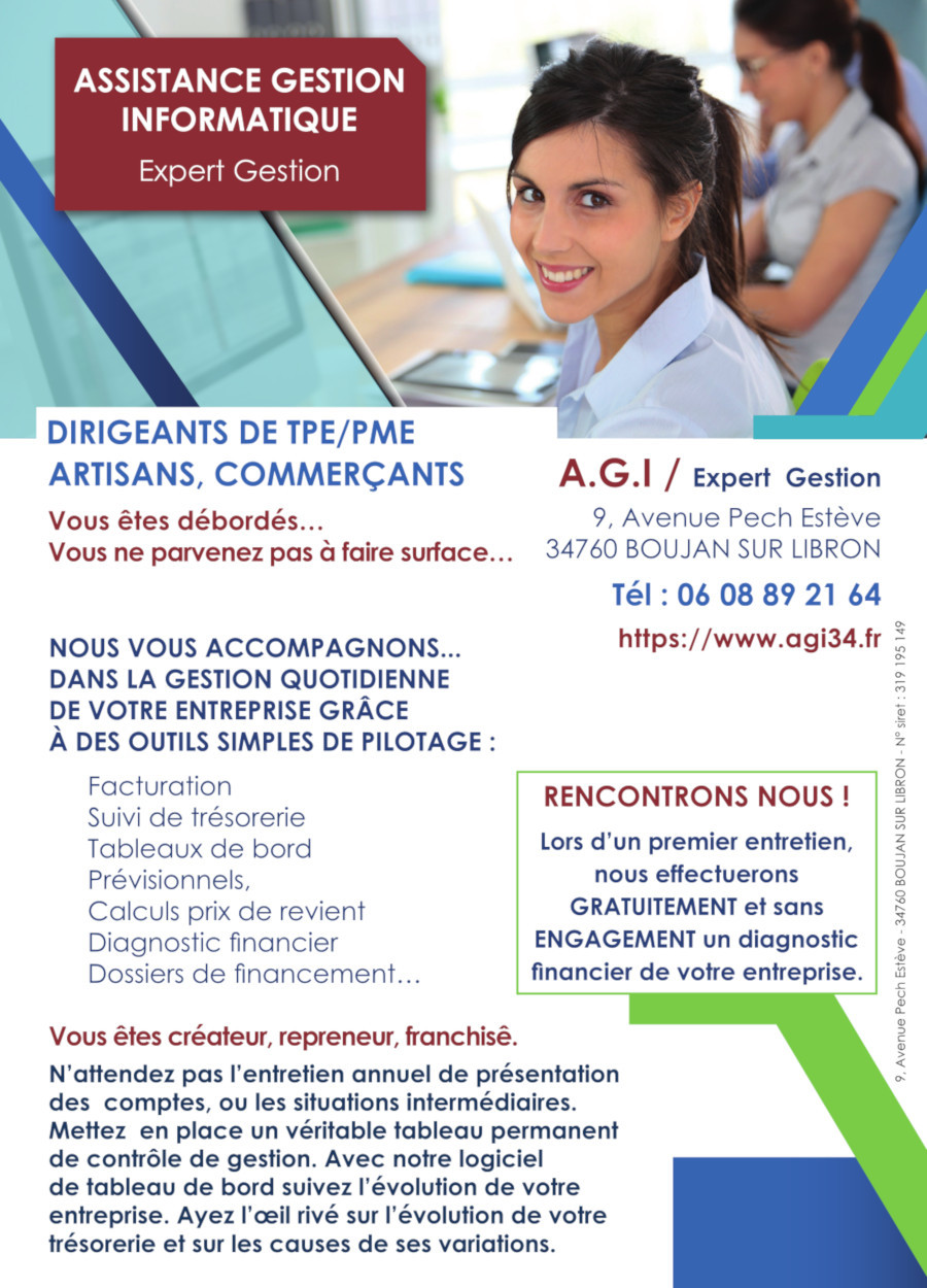 flyer assistance gestion informatique